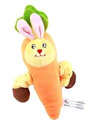 carotte lapin de style jouet pour chiens (19 x 13 x 5cm)