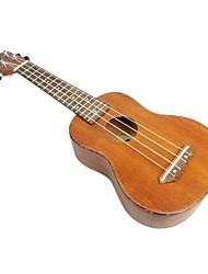 Tom - (tom213) ukulele soprano mogno com bag / picaretas