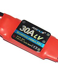 flycolor 30a 4s esc für Flugzeug mit Brushless-Motor (zufällige Farben)