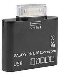 Card Reader for Samsung Galaxy Tab (Black)