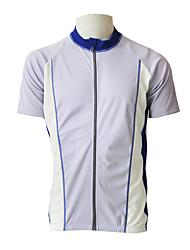 JAGGAD breve ciclismo manica Jersey (White)