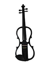 Cozart - (ml012) 4/4 parties jujube violon électrique avec étui / arc / résine / câble / batterie