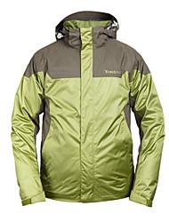 mostarda dos homens jaqueta verde de lazer