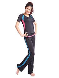 siboen Polyester Praxis tragbar Yoga Pants