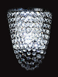 Crystal / LED / Bulb Included Flush Mount wall Lights,Modern/Contemporary LED Integrated Metal