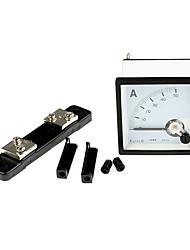 DC 0-50a analoge versterker lopende meter (ampèremeter panel shunt)