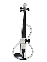 Cozart - (ML024-C3) 4/4 Czechic cristal incrustada violino elétrico com Case / Bow / Rosin / Cabo / Bateria / Extra Cristal / Glue