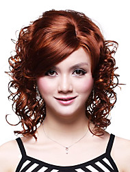 Capless Medium High Quality Synthetic Wavy Wig