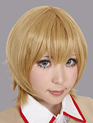 Cosplay Wigs Cosplay Atoli Yellow Short Anime/ Video Games Cosplay Wigs 25 CM Male / Female