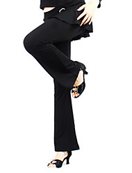 Dancewear Polyester Latin Dance Pant for Ladies
