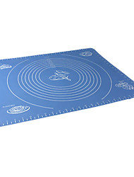Big Size Silica Gel Pad Baking Mat with Marks
