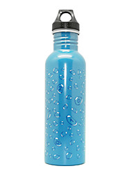750ML Sports Vacuum Bottle/Vacuum Flask (Green/Blue)