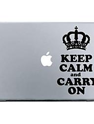 """kroon patroon beschermen de huid sticker voor 11 """"13"""" 15 """"MacBook Air pro"""