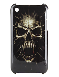 Horrible Human Skeleton Pattern Hard Case for iPhone 3G and 3GS (Multi-Color)