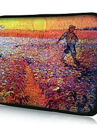 """schilderijen van Van Gogh sleeve case voor 10-20 """"laptop"""