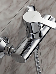 Sprinkle® Shower Faucets  ,  Contemporary  with  Chrome Single Handle Two Holes  ,  Feature  for Centerset / Wall Mount