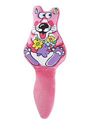 Smiling Fox Style Gas-filled Toy for Dogs (Purple)