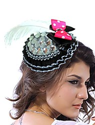 Women's Lace/Rhinestone Headpiece - Wedding/Special Occasion Fascinators