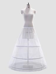 Polyester Full Gown Full-Length Wedding Slip Style/Petticoat