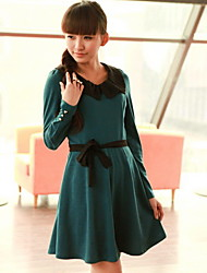Flexible Long Sleeve Dress