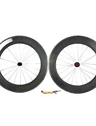 Supernova - 88 mm de fibra de carbono tubulares Juegos de ruedas para bicicleta carretera con la serie CPP
