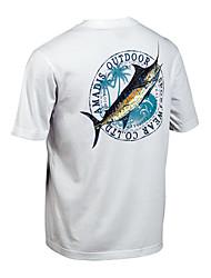 hombres de Amadís de algodón transpirable pesca camiseta