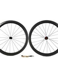 Supernova - 50 mm de fibra de carbono tubulares Juegos de ruedas para bicicleta carretera con la serie CPP