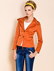 TS Zipper Decorate Basic Jacket