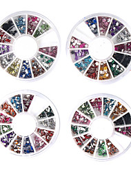 20 Manucure Dé oration strass Perles Maquillage cosmétique Nail Art Design