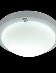 60W Sensor de luz encastrar com uma luz na sombra Acrílico Redonda