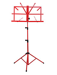 NG - (MS-RD) Red Folding Portable Music Stand with Bag