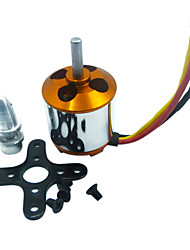 A2217-1250KV outrunner brushless motor for rc aircraft