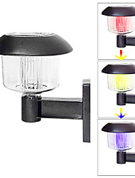 Color Changing Deck and Fence Wall Mount Solar Lights