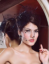 Wedding Veils Elegant Net Women's Fascinators (More Colors)