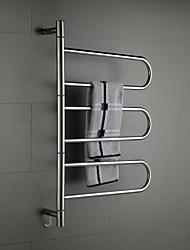 "Handtuchwärmer Hochglanzpoliert Wandmontage 800 x 550 x 112mm (31.4 x 21.6 x 4.40"") Edelstahl Modern"