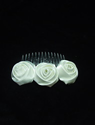 Women's Silk Headpiece - Wedding/Special Occasion Hair Combs