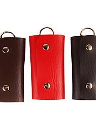 Unisex Leather Key Cases(Random Color)