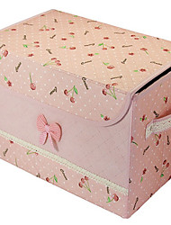 Floral Design Nonwoven Fabric Wedding Storage Box
