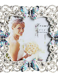 Modern Butterfly Metal Picture Frame-Multi-size Available