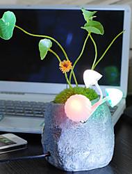 1W Type Plante en pot LED Lampe de table
