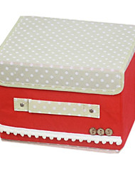 Polka Dot Design Canvas Wedding Storage Box (More Colors)