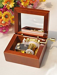 Classic Square Wood Music Box