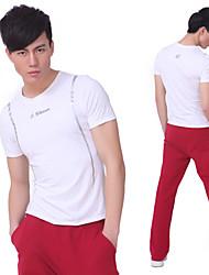 Hombres SiBoEn Yoga de la aptitud del entrenamiento se adapte a 2 juegos de ropa (camisetas cortas mangas de Yoga + Yoga Pants)