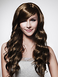 Capless Long Brown Curly Hair Wig 15 Colors To Choose