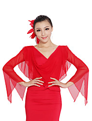 Dancewear Viscose/Tulle Latin/Modern Dance Top for Ladies More Colors