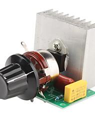 3800W Adjustable 0~220V Voltage Regulator for Dimming Light Lamps Speed Control (220V)