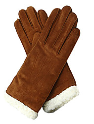 Stylish Cow Leather Fashion Women's Gloves (More Colors)