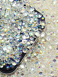 200 Manucure Dé oration strass Perles Maquillage cosmétique Nail Art Design