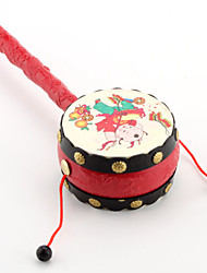Rattle Drum chino para niños