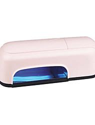 uv gel eléctrica 9w secador de uñas de plástico con el tiempo (9w)